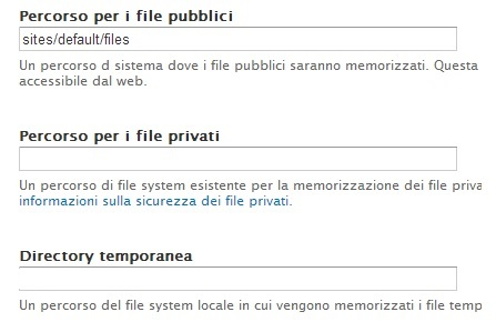 gestione cartelle file system